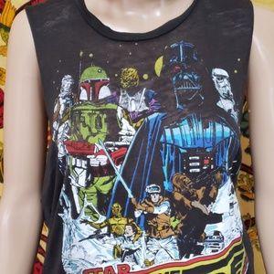 Star Wars Tops - 🆓 gift!  Retro Empire Strikes Back sleeveless med
